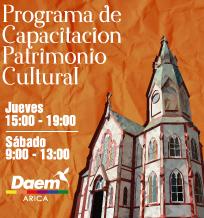 Programa de Capacitación en Patrimonio Cultural – DAEM